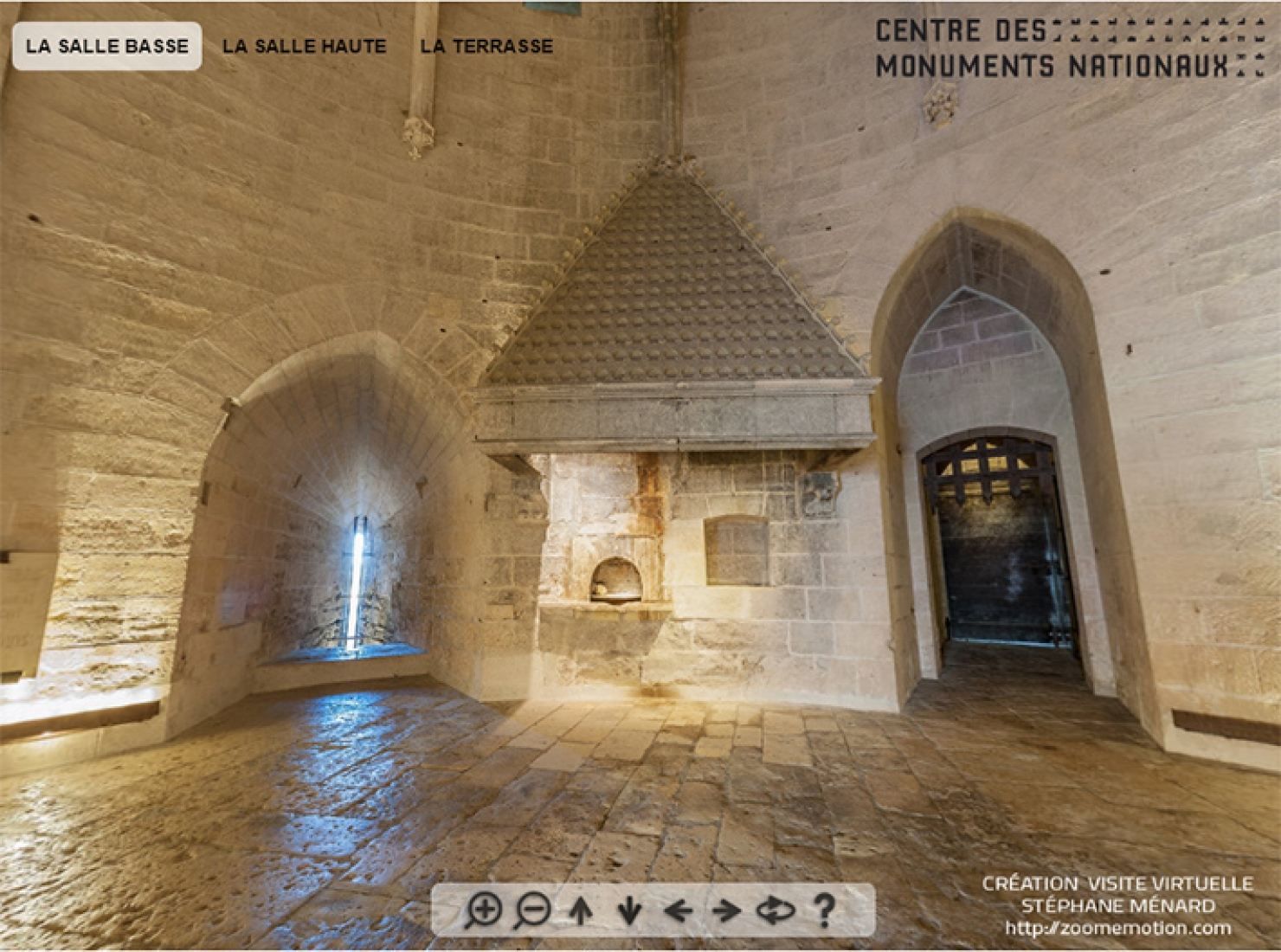 Virtual visit of tower of Constance